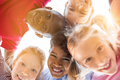 Happy children in circle - PhotoDune Item for Sale