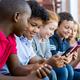 Children using smart phone - PhotoDune Item for Sale