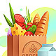 Grocery Bag - GraphicRiver Item for Sale