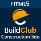 BuildClub - Construction Template for Architect and Construction - ThemeForest Item for Sale