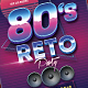 80s Retro Party Flyer - GraphicRiver Item for Sale