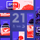 Open Air Party Banner Pack - GraphicRiver Item for Sale