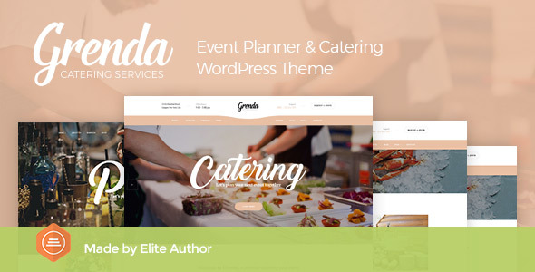 Best 18+ Catering WordPress Themes 2019 11