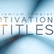 Motivational Titles - VideoHive Item for Sale