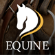 Equine - An Equestrian and Horse Riding Club Theme