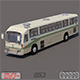 Nissan Diesel Bus - 3DOcean Item for Sale