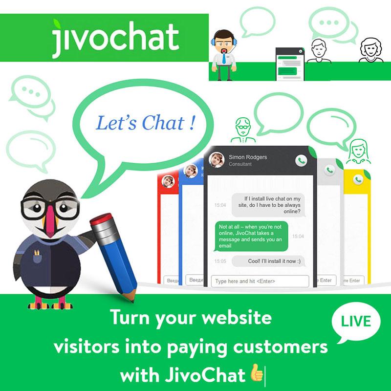 Jivo Chat for Prestashop