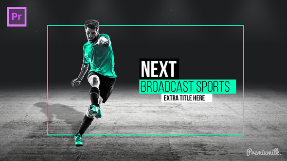 Videohive Broadcast Sports Pack Essential Graphics | Mogrt 21835831