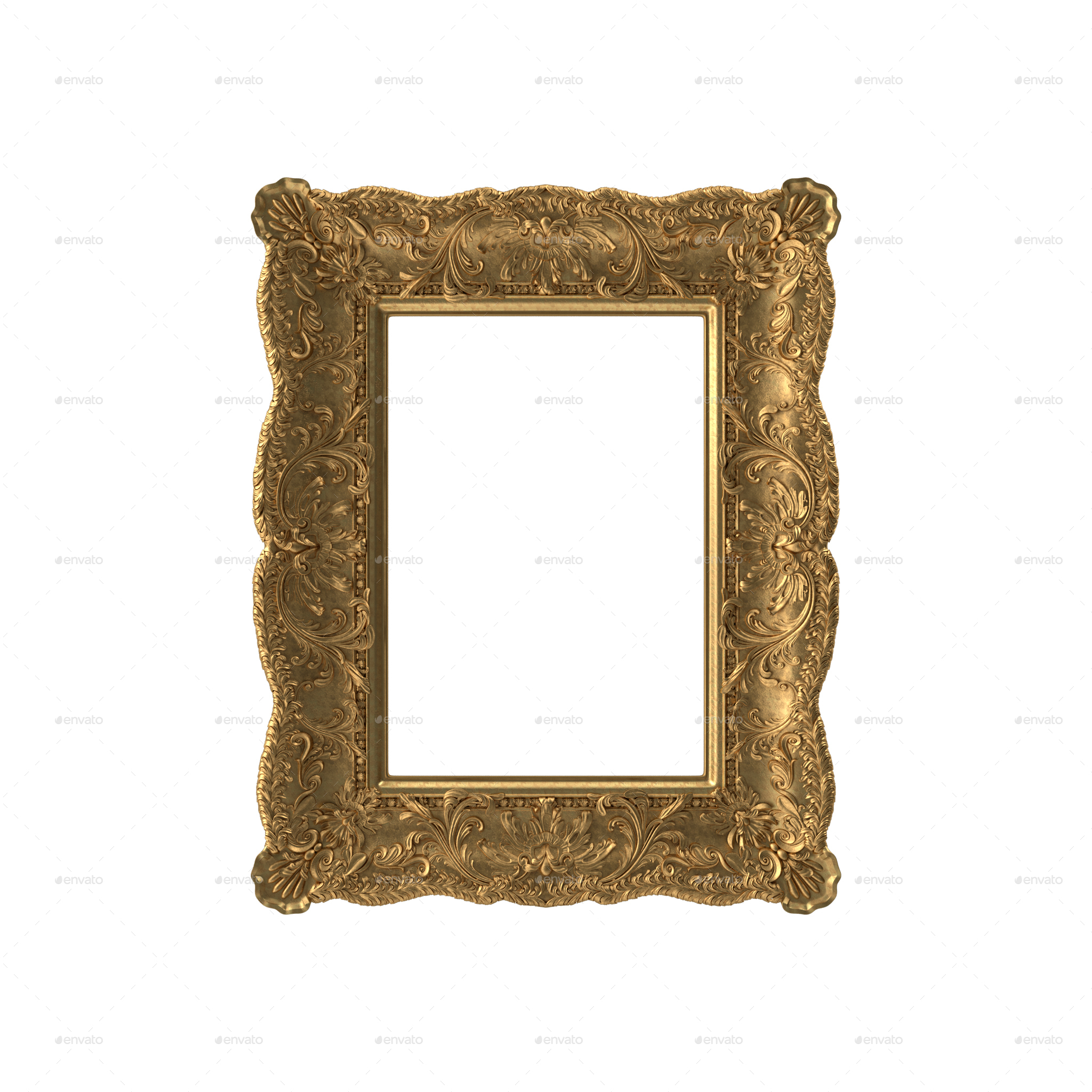 Realistic Photo / Picture Frames PNG Set by nashetyakoub | GraphicRiver