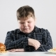 Young Fat Boy Chooses a Burger - VideoHive Item for Sale