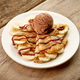 Crepes with banana and chocolate ice cream - PhotoDune Item for Sale