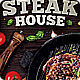 Steak Bar Menu Flyer - GraphicRiver Item for Sale