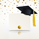 Graduate Cap and Diploma of Graduation - GraphicRiver Item for Sale