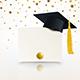 Graduate Cap and Diploma of Graduation