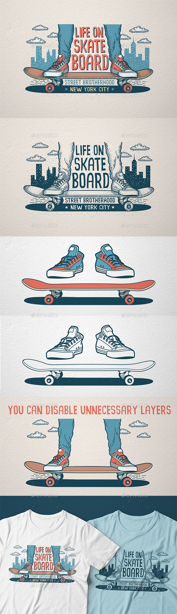 Skateboarding Print - Sports/Activity Conceptual