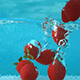 Water Strawberry Liquid Background - VideoHive Item for Sale