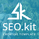 SEO Kit Profesional Powerpoint Template - GraphicRiver Item for Sale