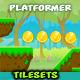 Forest Platformer  Game  Tilesets 21 - GraphicRiver Item for Sale