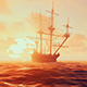 An Ancient Ship In The Sea - VideoHive Item for Sale