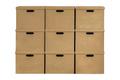 Closed Box Isolated On White Background - PhotoDune Item for Sale