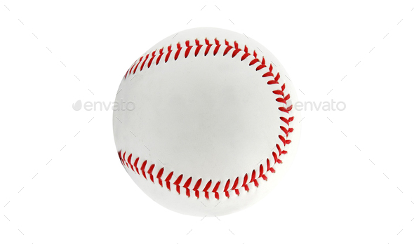 baseball isolated on white background - Stock Photo - Images