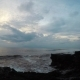 Ocean, Sky and Tanah Lot Temple in the Sunset - VideoHive Item for Sale