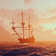 Ancient Sailing Ship And Ocean - VideoHive Item for Sale