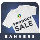 Product Sale Banner Set - GraphicRiver Item for Sale