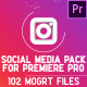Social Media Pack | MOGRT for Premiere PRO - VideoHive Item for Sale