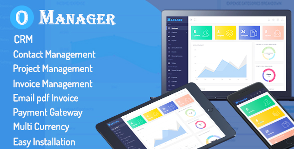 Office Manager - CRM & Billing Management Web Application - CodeCanyon Item for Sale