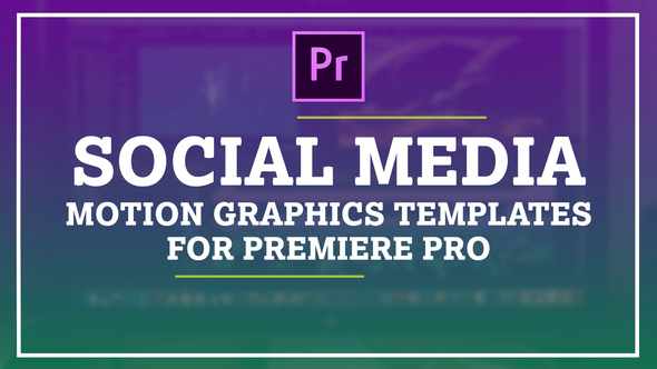 Auto Resize Social Media Graphics Pack By FluxVFXtemplates VideoHive - Premiere pro motion graphics templates