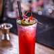 Non-alcoholic pomegranate cocktail - PhotoDune Item for Sale