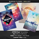 BUNDLE: 4 Summer Flyers - GraphicRiver Item for Sale