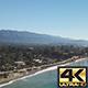 Looking Down At Santa Barbara Beach - VideoHive Item for Sale
