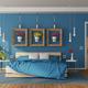 Modern blue master bedroom - PhotoDune Item for Sale