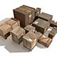 Transport crates Pack2 PBR