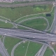 Aerial View on Modern Road Junction - VideoHive Item for Sale