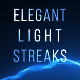 Elegant Light Streaks With Particles - VideoHive Item for Sale
