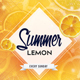 Summer Lemon - PSD Flyer Template - GraphicRiver Item for Sale