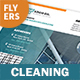 Cleaning Service Flyers – 4 Options - GraphicRiver Item for Sale