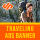 Holiday & Traveling Ad Banners - AR - GraphicRiver Item for Sale