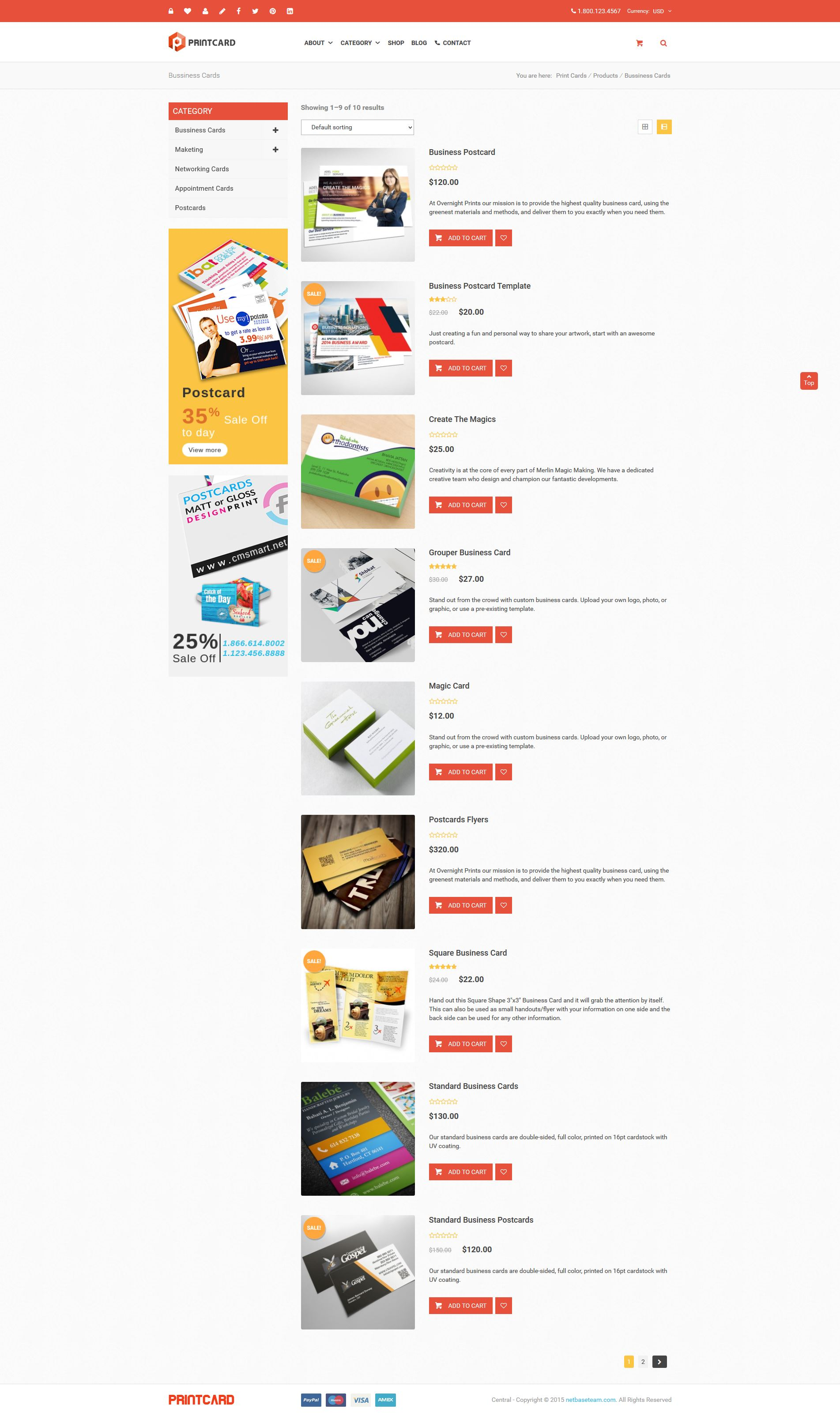 Printshop wordpress responsive printing theme by netbaseteam printshop wordpress responsive printing theme fandeluxe Gallery