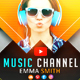Creative Music YouTube Banners - GraphicRiver Item for Sale