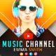 Creative Music YouTube Banners