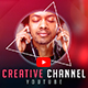 Creative YouTube Banner - GraphicRiver Item for Sale