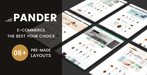 Image of Pander - Furniture Responsive PrestaShop Theme
