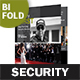 Security Guard Service Bifold / Halffold Brochure - GraphicRiver Item for Sale