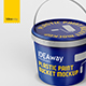 Plastic Paint Bucket Mockup - GraphicRiver Item for Sale