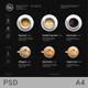 Minimalist Photography Coffee Menu Dark Version - GraphicRiver Item for Sale
