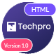Techpro - App, Saas, Software & WebApp Landing Template - ThemeForest Item for Sale
